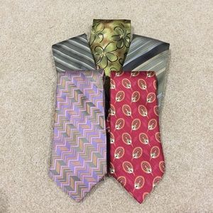 Robert Talbott Other - Men's Tie's - Olive Tones
