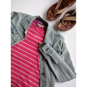 Boden striped tunic dress