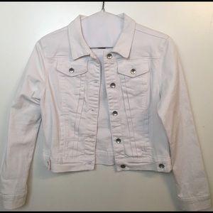 Falls Creek Jackets & Blazers - Women's Falls Creek White Waist Jacket