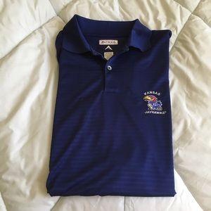 Antigua Other - KU Jayhawks Polo Shirt