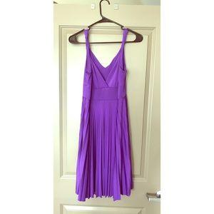 Soprano Dresses & Skirts - Purple pleated dress
