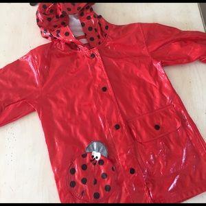Kids Headquarters Other - Ladybug raincoat