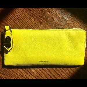 Reed Krakoff Handbags - BNWT Reed Karkoff Leather Wallet, Neon Yellow