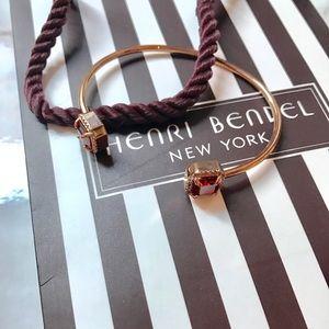 henri bendel Jewelry - Auth Henri Bendel Red Gem Queen open bracelet new
