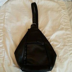 Tignanello Handbags - Tignanello Leather Backpack Bag