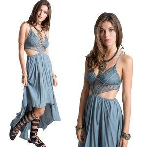 ▪️Crochet High-Low Cami Dress