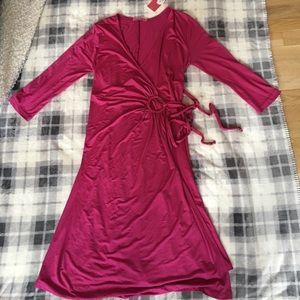 Maternal America Dresses & Skirts - Maternal America Maternity Wrap Dress NWT