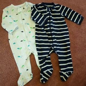 Carter's Other - Footy pajamas