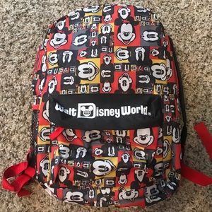 Disney WDW Mickey Mouse Backpack