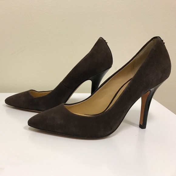 hot sale sale online Coach Ellin Leather Pumps discount footlocker pictures classic cheap price cheap price outlet lWTta