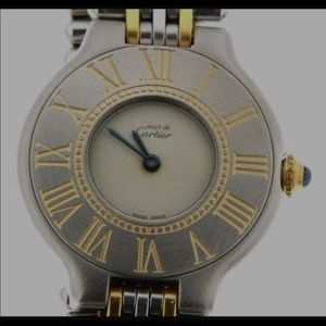 "Cartier Jewelry - Vintage watch ""Must de Cartier"""