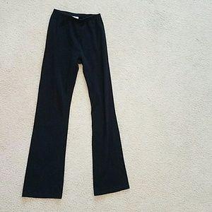 Jacques Moret Pants - Black Cotton Active Wear Pants