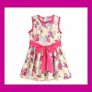 Other - Little Girls Floral Spring / Summer Dress