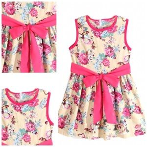 Other - Little Girls Floral Dress