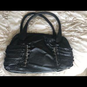 Diesel Black Gold Handbags - Diesel leather bag