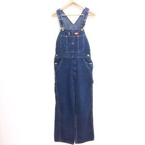Dickies Denim - Vintage Dickies blue denim Jean overalls