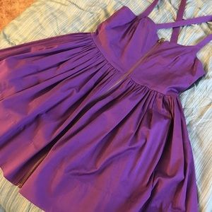 Jack by BB Dakota Dresses & Skirts - Cute Purple Dress