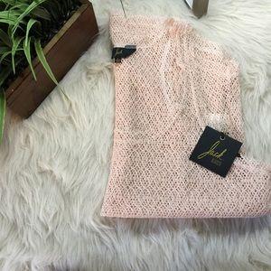 BB Dakota Tops - Jack. BB dakota blush open knit top