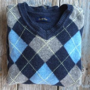 Club Room Other - Argyle Wool Sweater