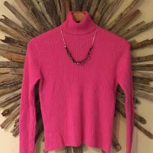 Valerie Stevens Cashmere Turtleneck Sweater