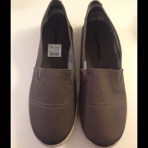 Airwalk Shoes - AIRWALK Gray Canvas Flats