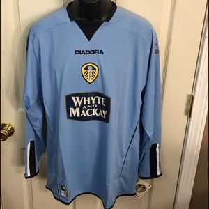 Diadora Other - Leeds United Football Club Away Jersey Size M