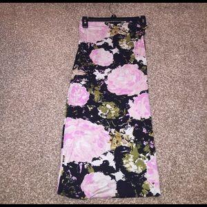leith Dresses & Skirts - Flower long skirt
