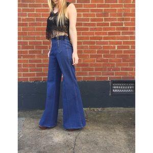 Vintage 70s bellbottom jeans
