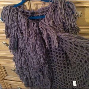 elan Jackets & Blazers - Knitted shabby chic vest