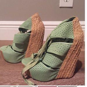 Jeffrey Campbell Shoes - LF Mint Wedges