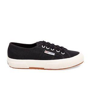 Superga Shoes - Black Superga's