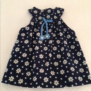 Florence Eiseman Other - Blue flowered corduroy dress