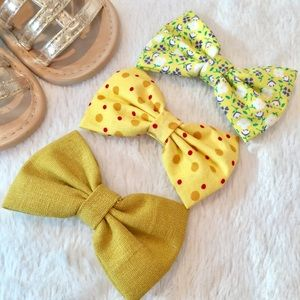 KiKi Lee Other - Handmade Boutique Bow 3Pack