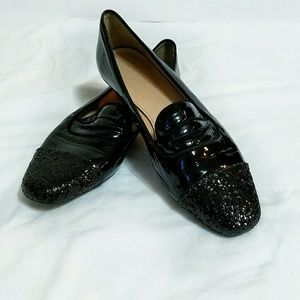 J. Crew Shoes - J. Crew Darby glitter toe loafers