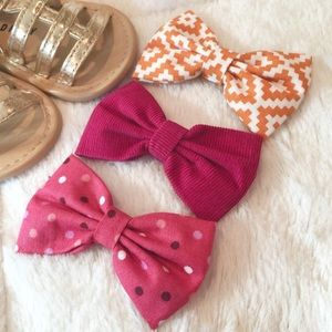 KiKi Lee Other - Handmade Boutique Bow 3 Pack