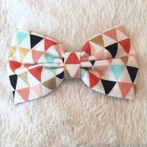 KiKi Lee Other - Handmade Large Geometric Bow