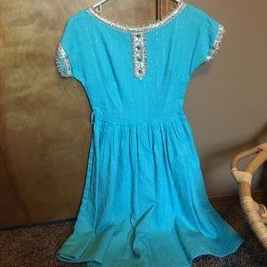 EUC - Vintage Midi Dress - S/M