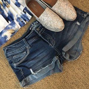 Reign Pants - Reign Distressed Jean Shorts