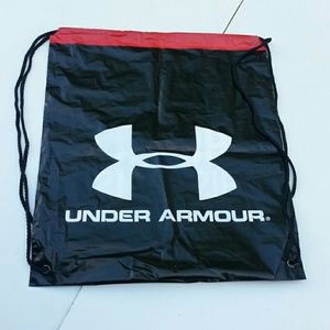 """Under Armour Other - UnderArmour Drawstring Backpack """"protectthishouse"""""""