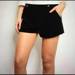 Pants - Black sailor style shorts variety sizes available