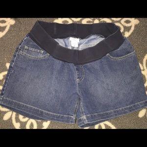 Oh Baby by Motherhood Pants - Motherhood Maternity Jean Shorts. M.