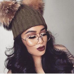 Quay Australia Accessories - 👓64mm Full Coverage Oversize Super Chic Eyewear