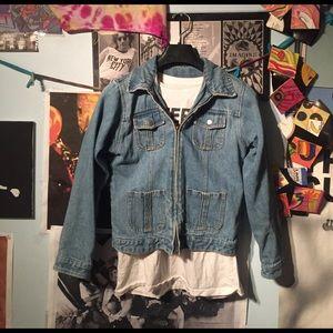Vintage 70s/80s Jean Jacket w/Zipper