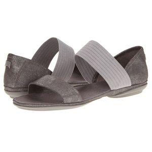 Camper Shoes - Camper Right Nina in Silver Size 9