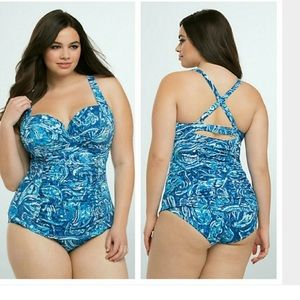 torrid Other - Torrid Size 1 Bathing Suit NWT