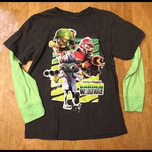 "Bioworld Other - Boys long sleeve ""plantsvszombies"" tshirt"