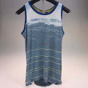 Univibe Other - Univibe Waves and Stripes Tank Top