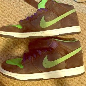 """Nike Other - Nike SB mid dunk """"Donatello"""" ninja turtles shoe"""
