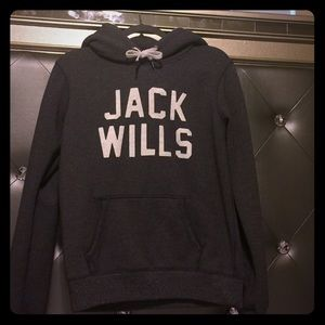 Jack Wills Tops - This is a hoodie in dark grey Jack Wills UK Sz10