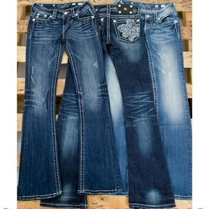 Miss Me Denim - MISS ME SIZE CHART ONLY